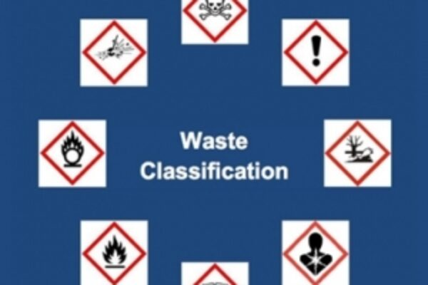Waste classification icons