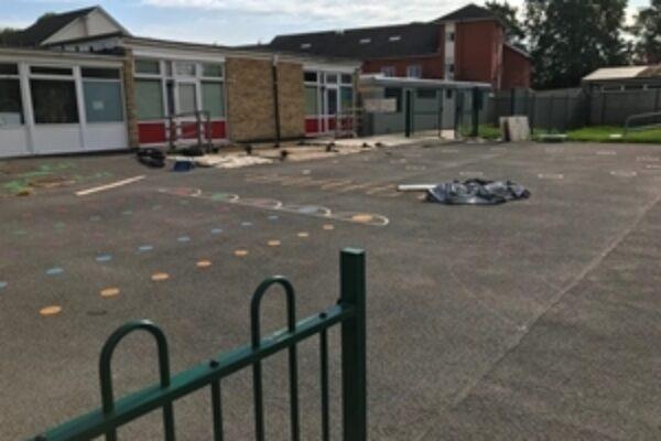 School carpark
