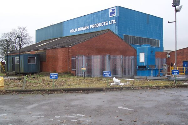 Outside of Cold Drawn Products warehouse