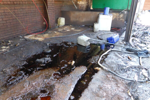 Ground contamination