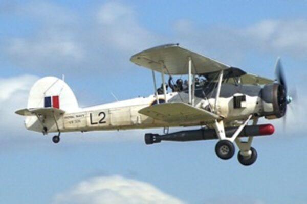 Fairy Swordfish bomber aircraft